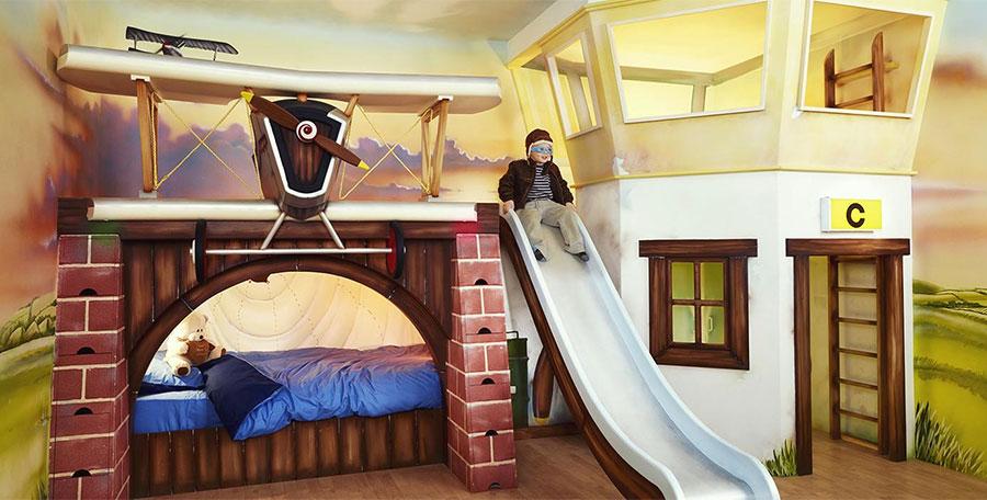 Letti a castello particolari per bambini