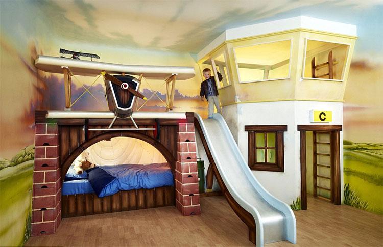 Letti A Soppalco Per Ragazzi Prezzi : Foto di letti a castello per bambini davvero originali