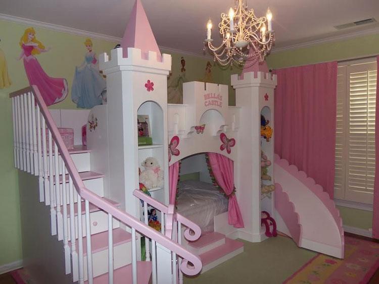 Letto a castello Disney