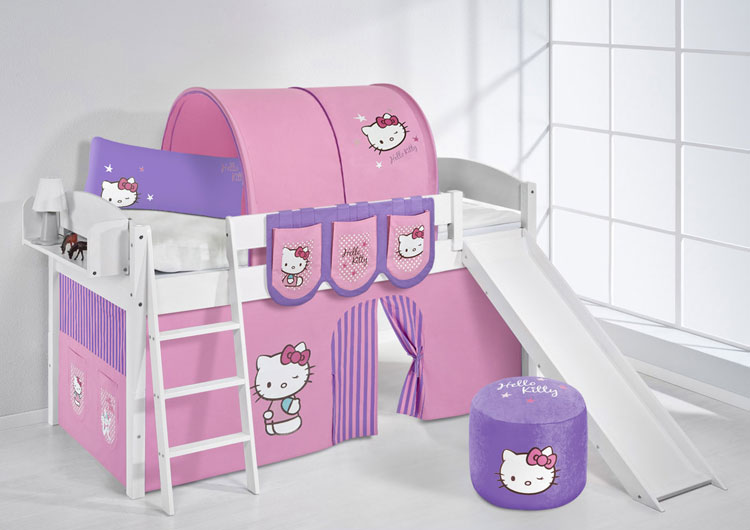 Letto a castello di Hello Kitty