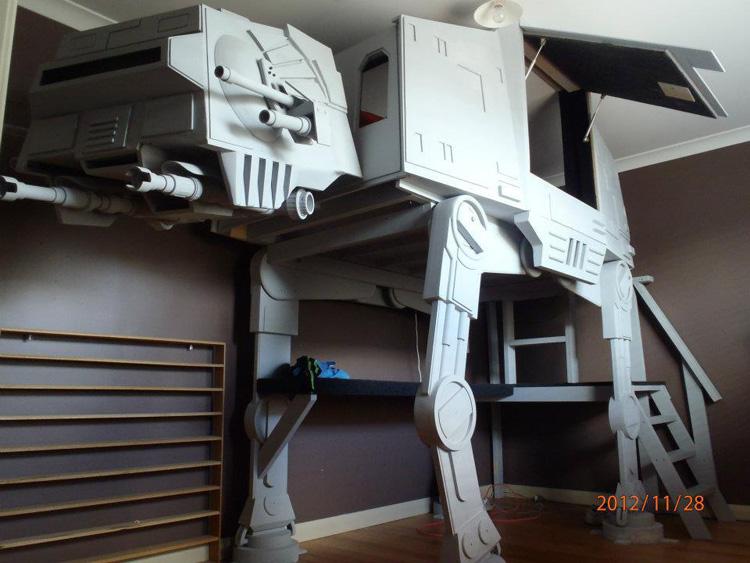 Letto a castello di Star Wars