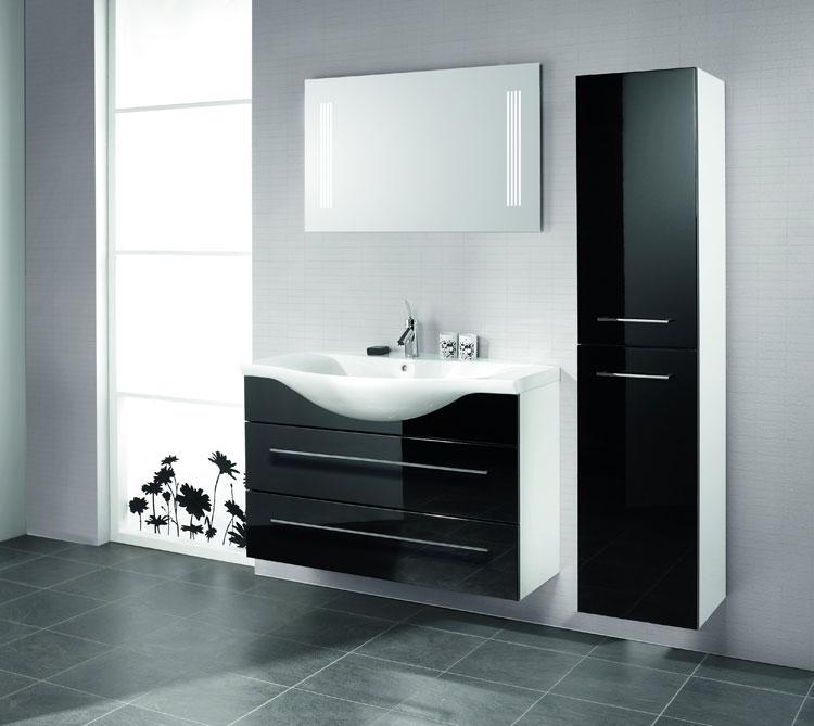Mobile bagno sospeso in stile moderno n.04