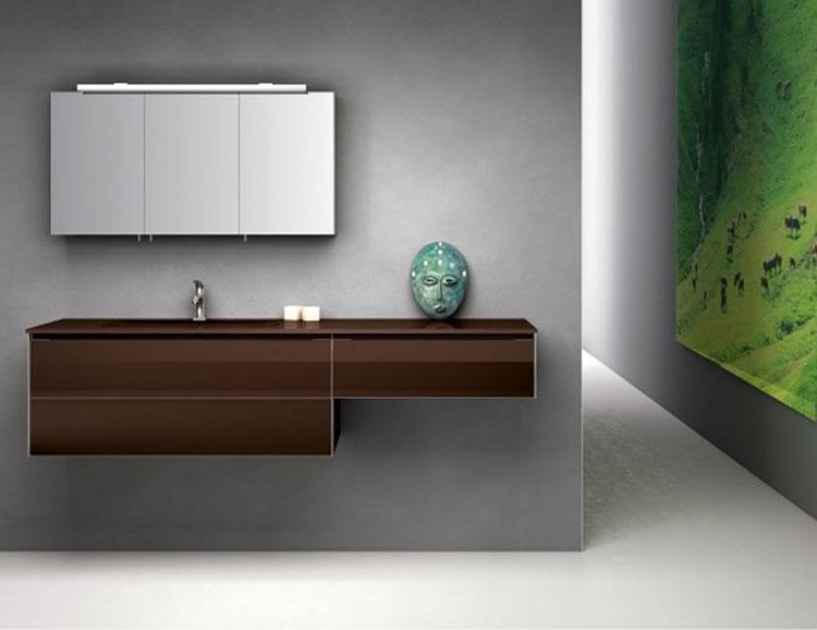 Mobile bagno sospeso in stile moderno n.06