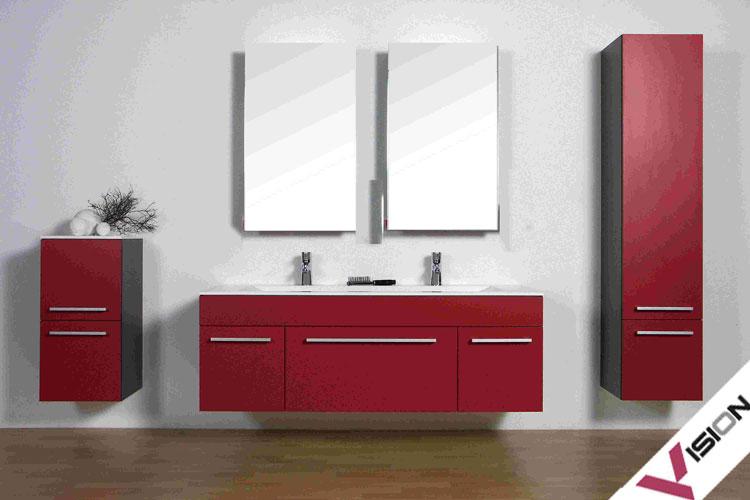 Mobile bagno sospeso in stile moderno n.16