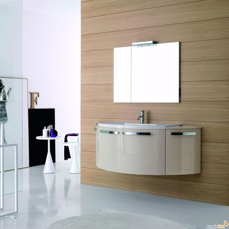Mobile bagno sospeso in stile moderno n.17