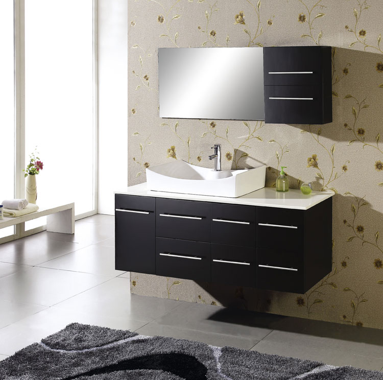 Mobile bagno sospeso in stile moderno n.18