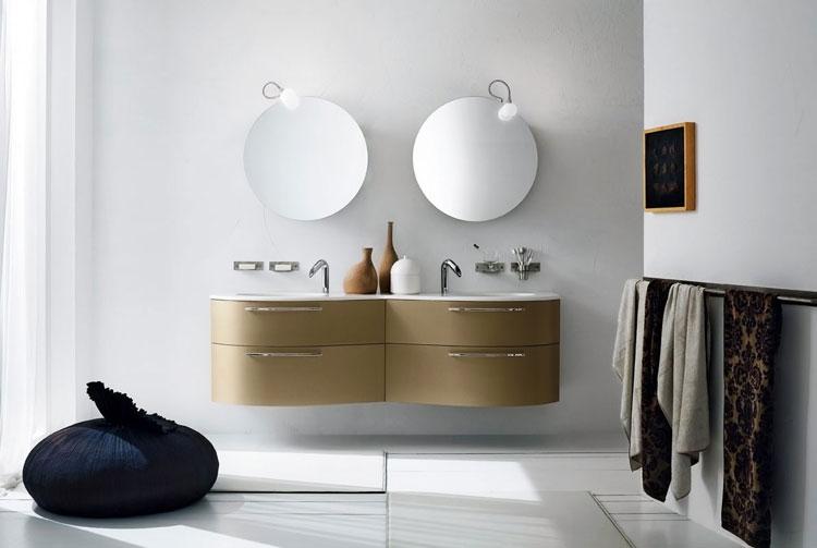 Mobile bagno sospeso in stile moderno n.20
