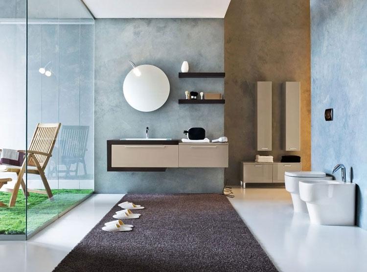 Mobile bagno sospeso in stile moderno n.24