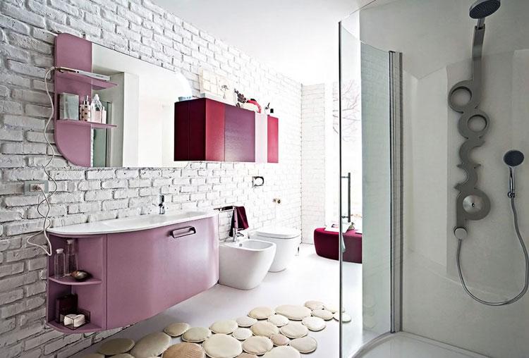 Mobile bagno sospeso in stile moderno n.25