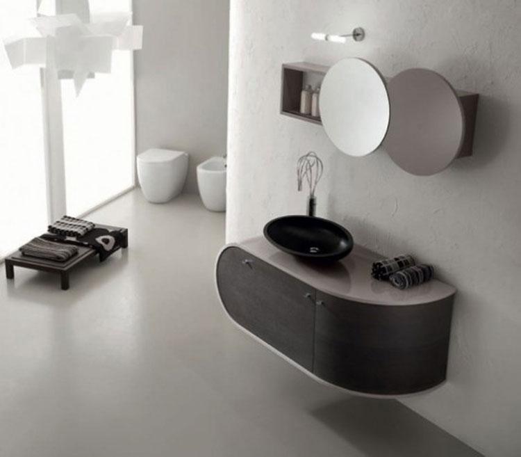 Mobile bagno sospeso in stile moderno n.27
