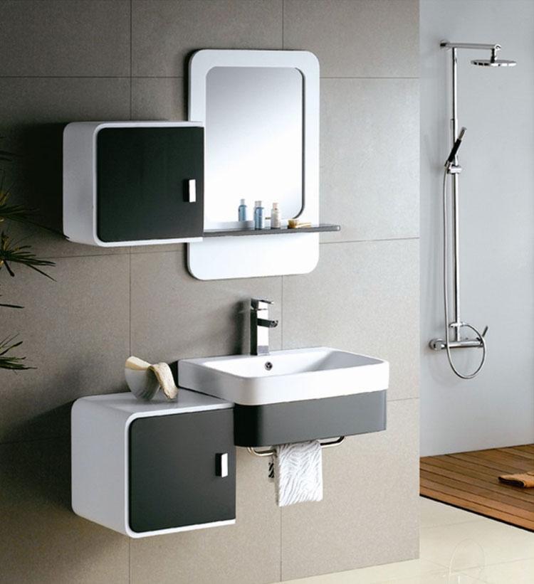 Mobile bagno sospeso in stile moderno n.29