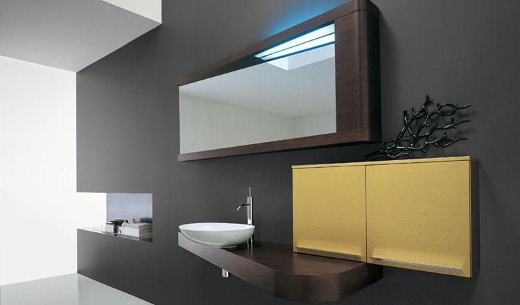 Mobile bagno sospeso in stile moderno n.36