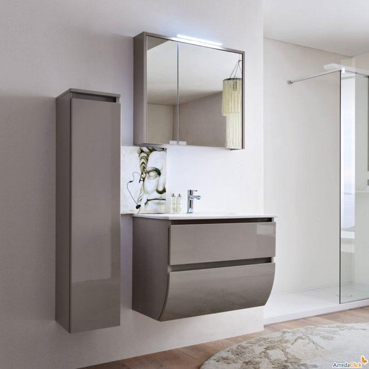 Mobile bagno sospeso in stile moderno n.38