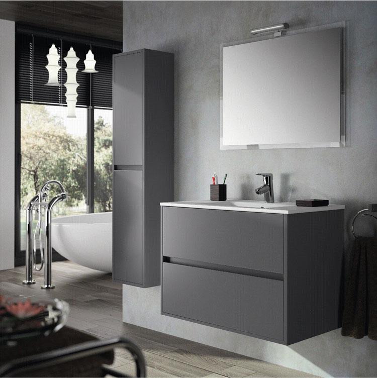 Mobile bagno sospeso in stile moderno n.40