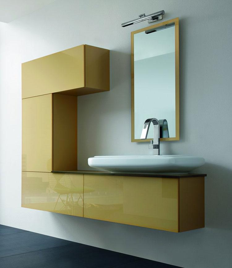 50 magnifici mobili bagno sospesi dal design moderno | mondodesign.it - Arredo Bagno Moderno Sospeso