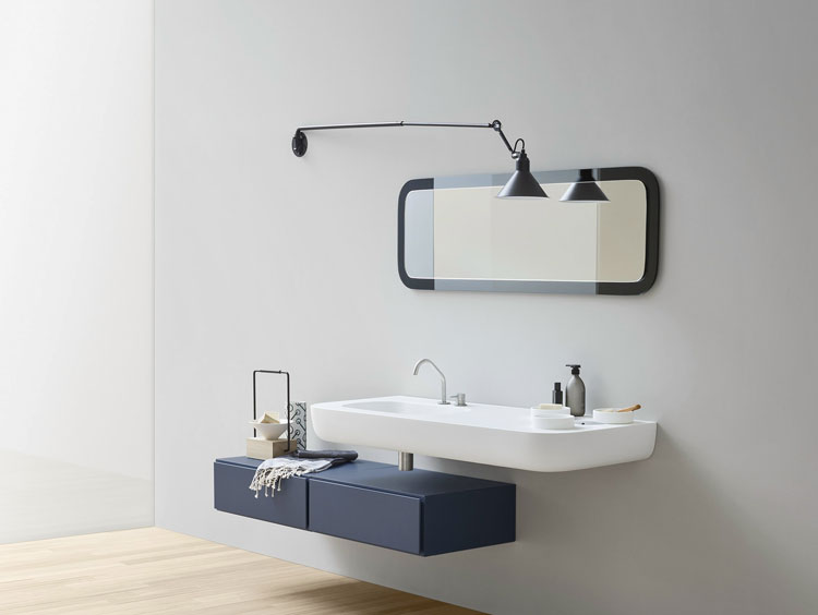Mobile bagno sospeso in stile moderno n.50