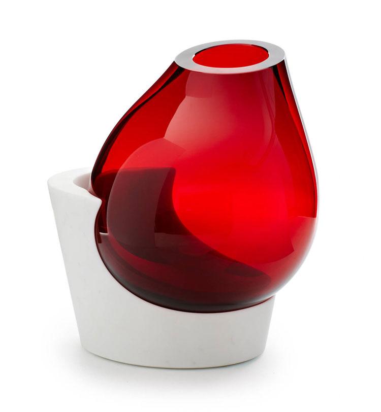 Vaso moderno dal design particolare n.05