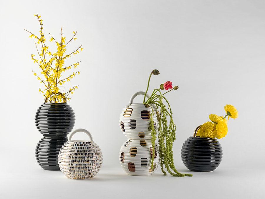 Vaso moderno dal design particolare n.69