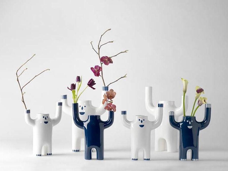 Vaso moderno dal design particolare n.70