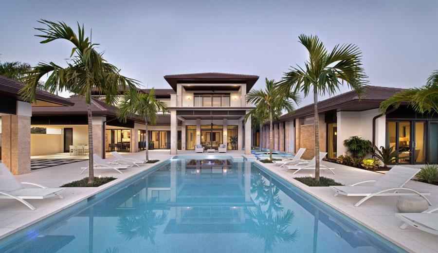 Spettacolare villa con piscina n.08