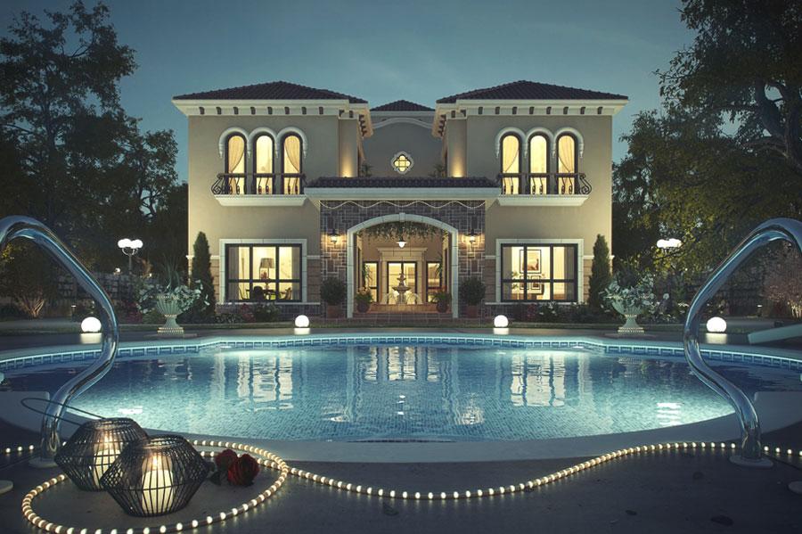 Spettacolare villa con piscina n.11