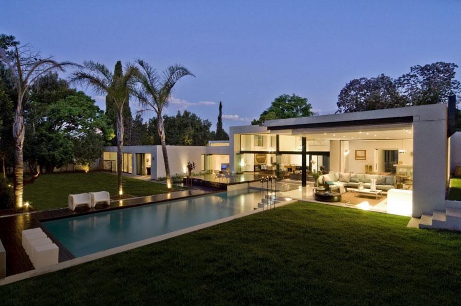 Spettacolare villa con piscina n.13