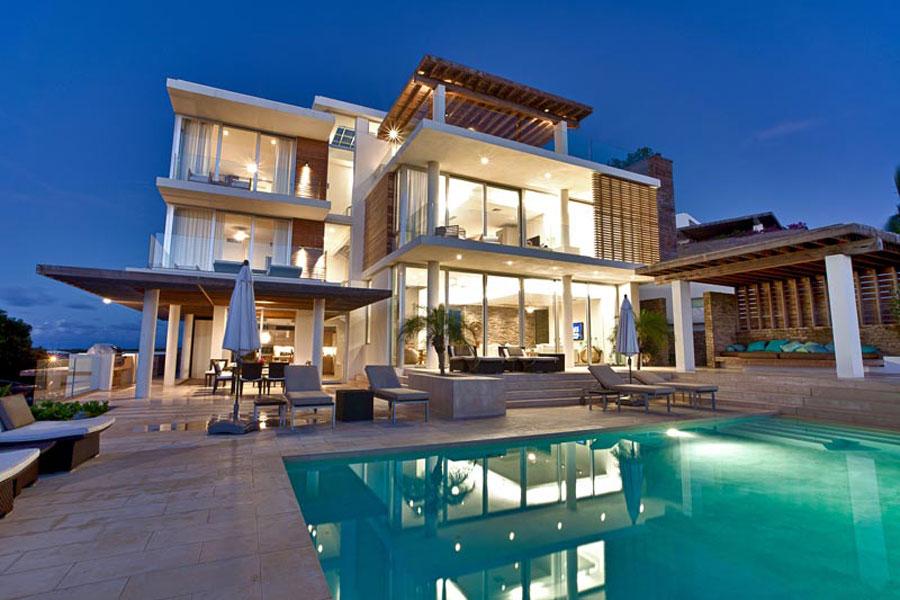Spettacolare villa con piscina n.14