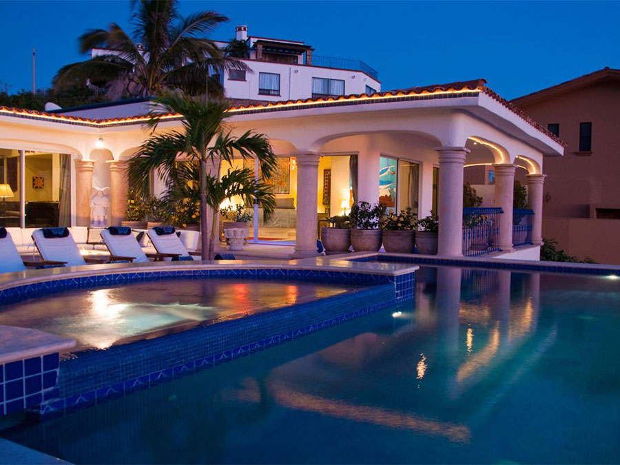 Spettacolare villa con piscina n.17