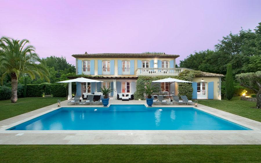 30 favolose ville da sogno con piscina for Progetti di piscine e pool house