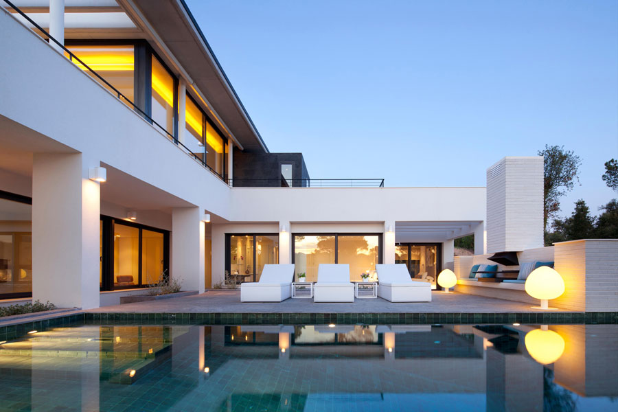 Spettacolare villa con piscina n.27