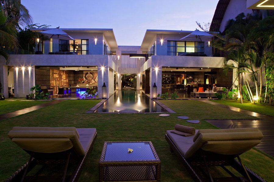 Spettacolare villa con piscina n.28
