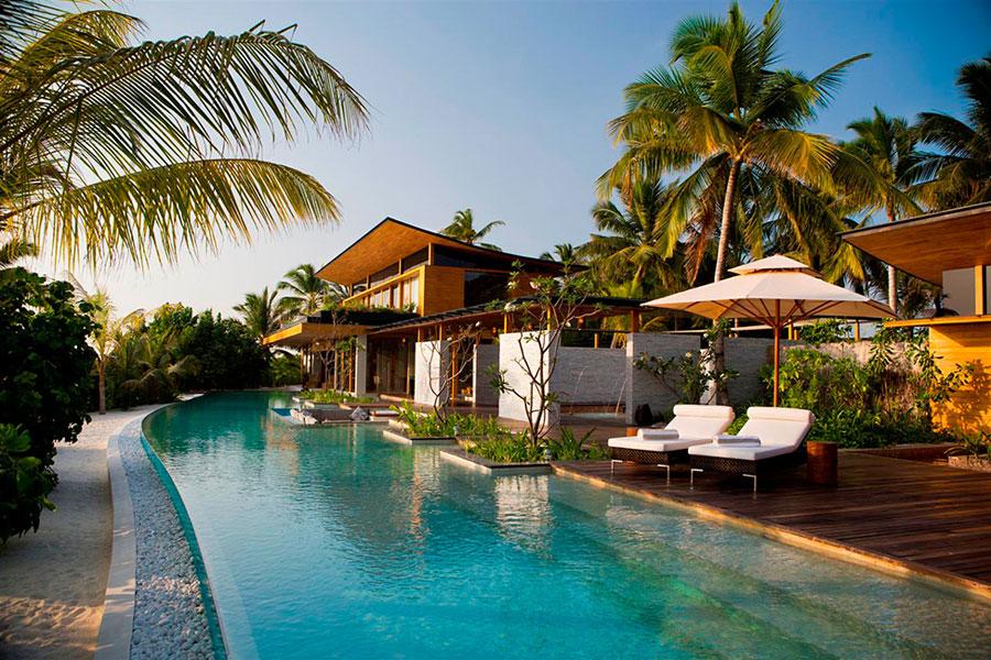 Spettacolare villa con piscina n.29