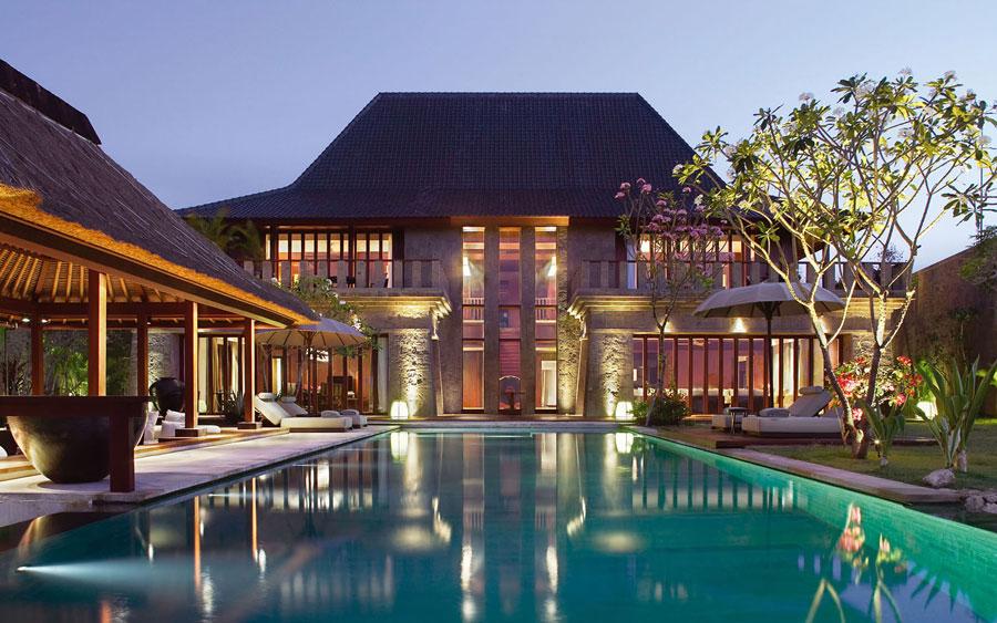 Spettacolare villa con piscina n.30