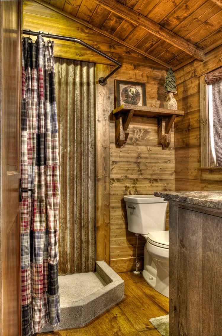 Foto di 25 bagni rustici per idee di arredo con questo for Immagini di case rustiche