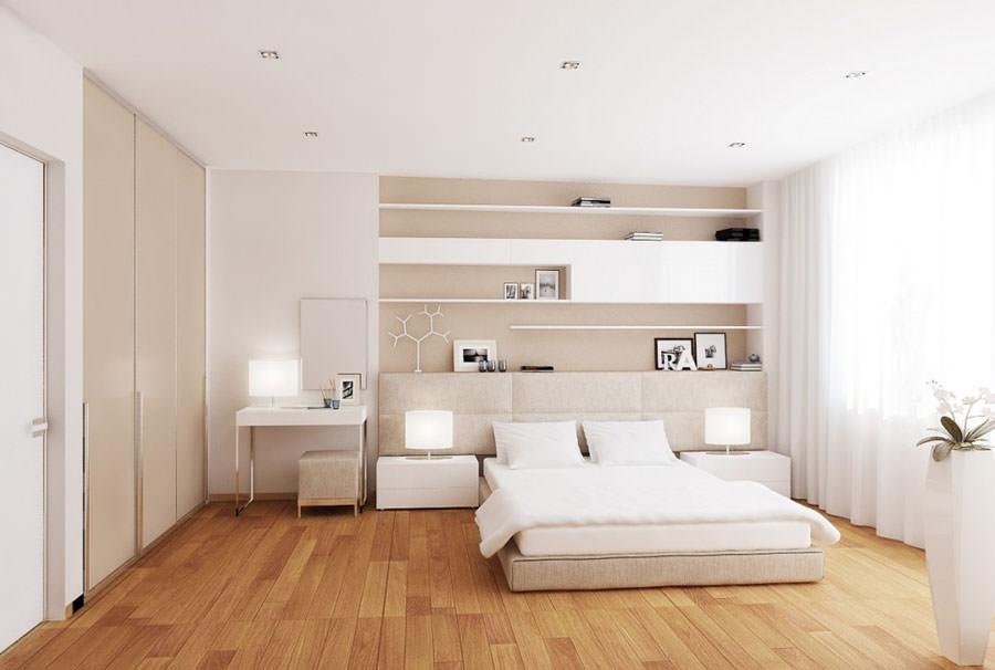 Camere da letto bianche ecco 30 esempi di design - Camera da letto bianca moderna ...