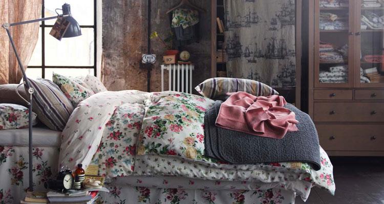 Camera da letto in stile shabby chic n.07