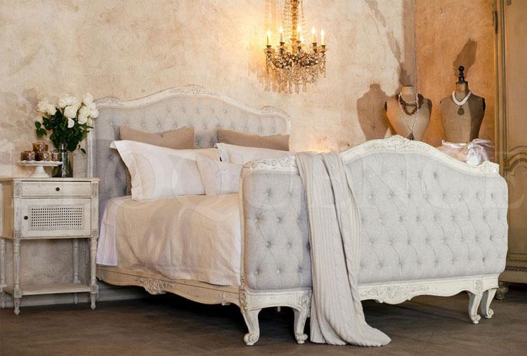 Camera da letto in stile shabby chic n.11