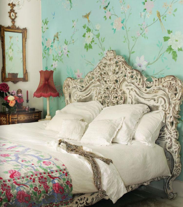 Camera da letto in stile shabby chic n.14