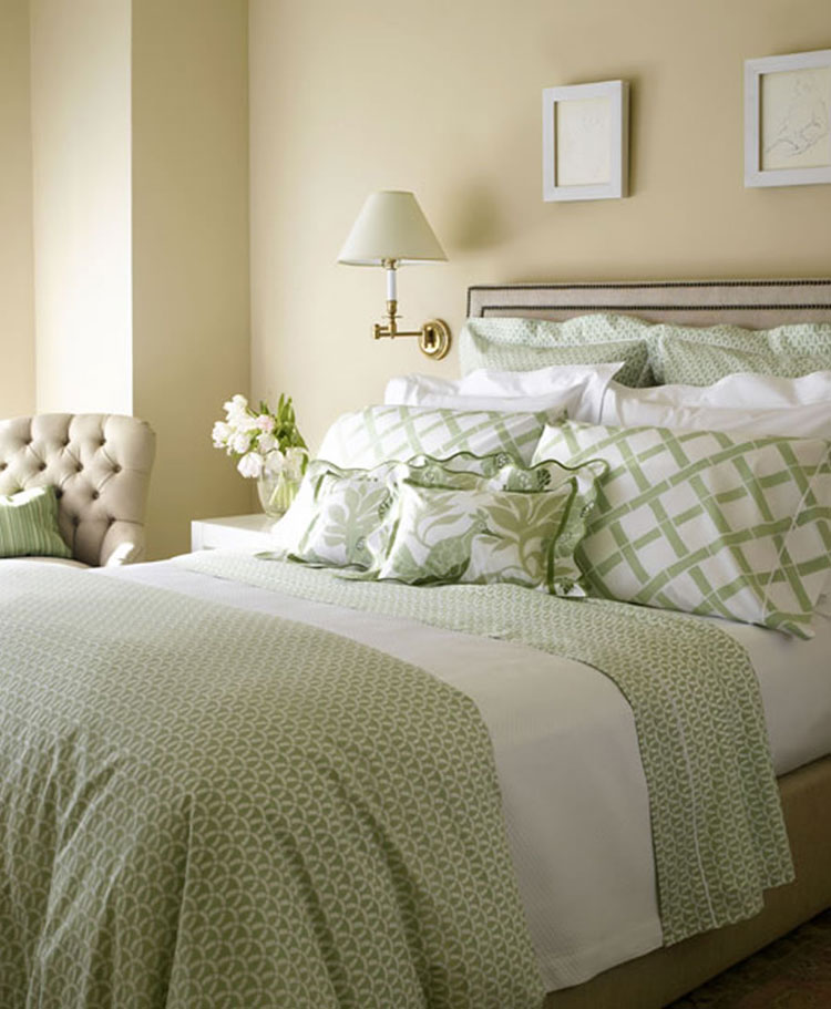 40 esempi di arredamento shabby chic per la camera da letto - White bed design ideas ...