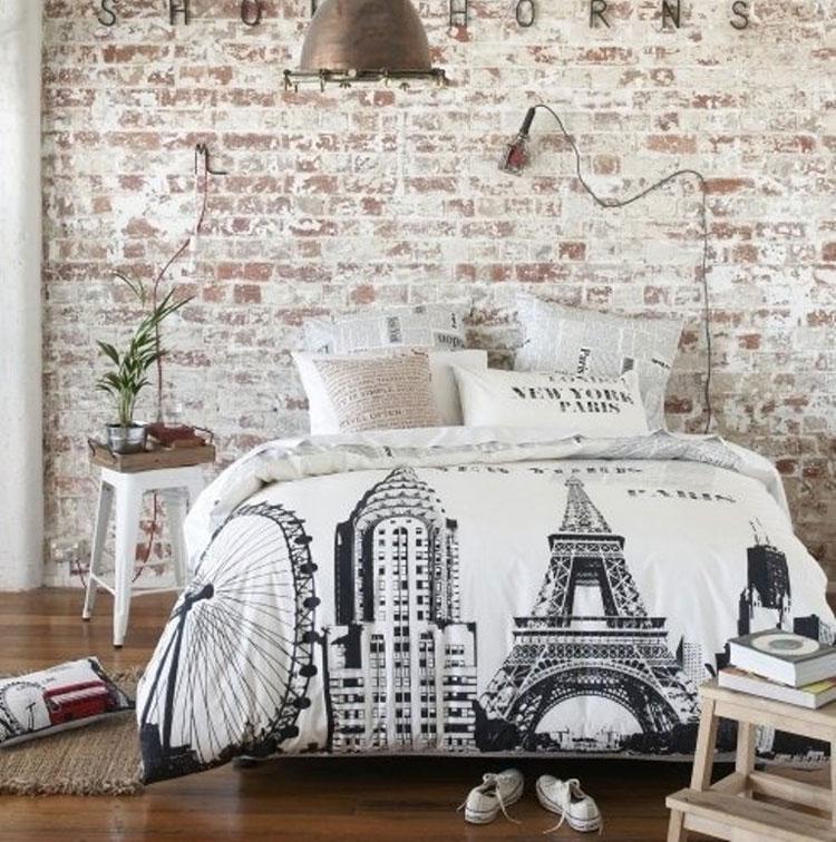 Camera da letto in stile shabby chic n.17