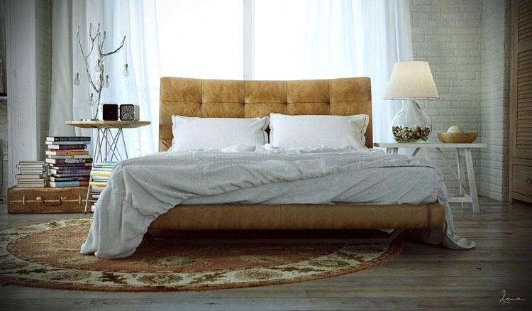 Camera da letto in stile shabby chic n.18