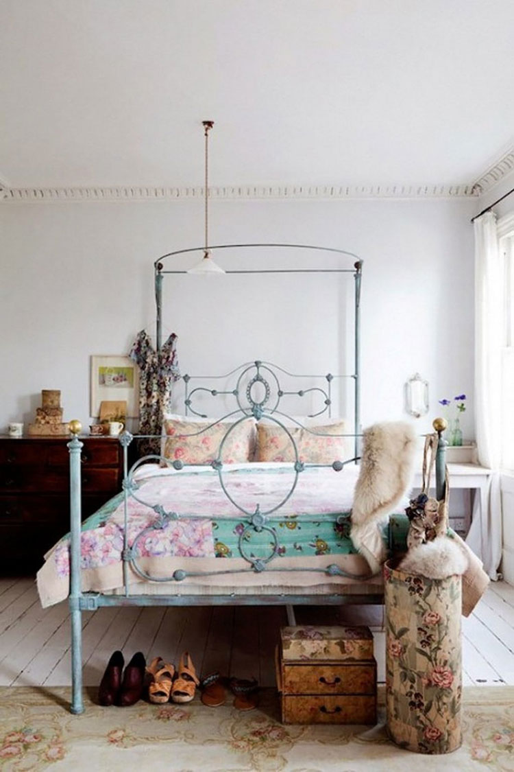Camera da letto in stile shabby chic n.19