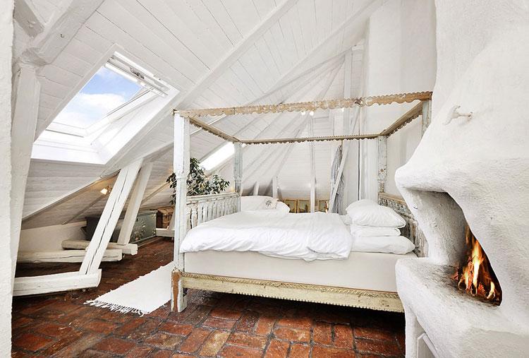 Camera da letto in stile shabby chic n.22