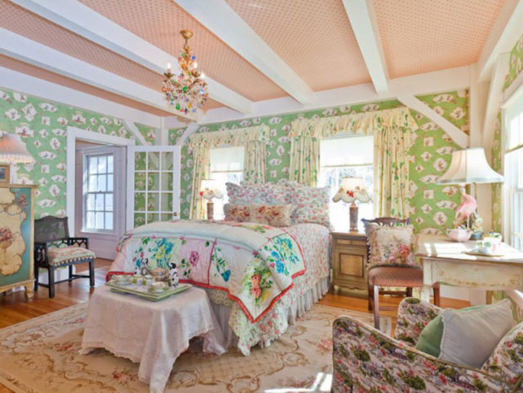Camera da letto in stile shabby chic n.28