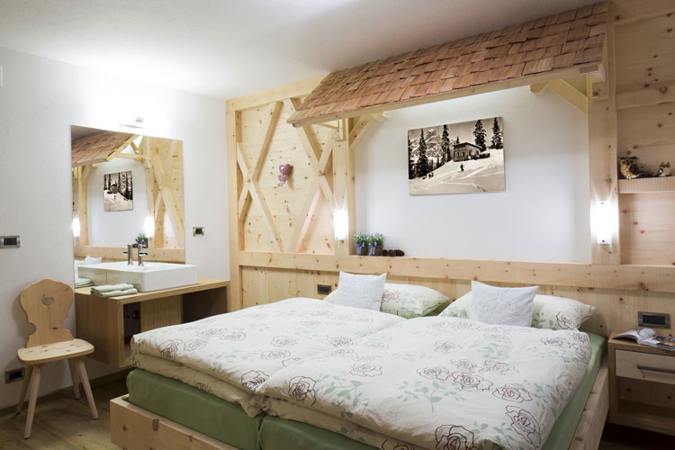 Camera da letto in stile shabby chic n.31