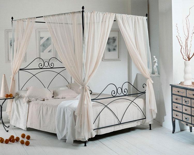 Camera da letto in stile shabby chic n.33