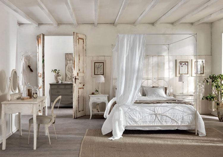 Camera da letto in stile shabby chic n.36