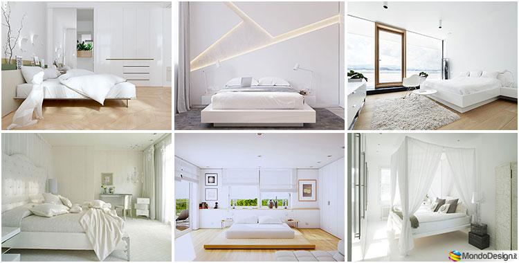 Camere da letto bianche ecco 45 esempi di design for Lube camere da letto