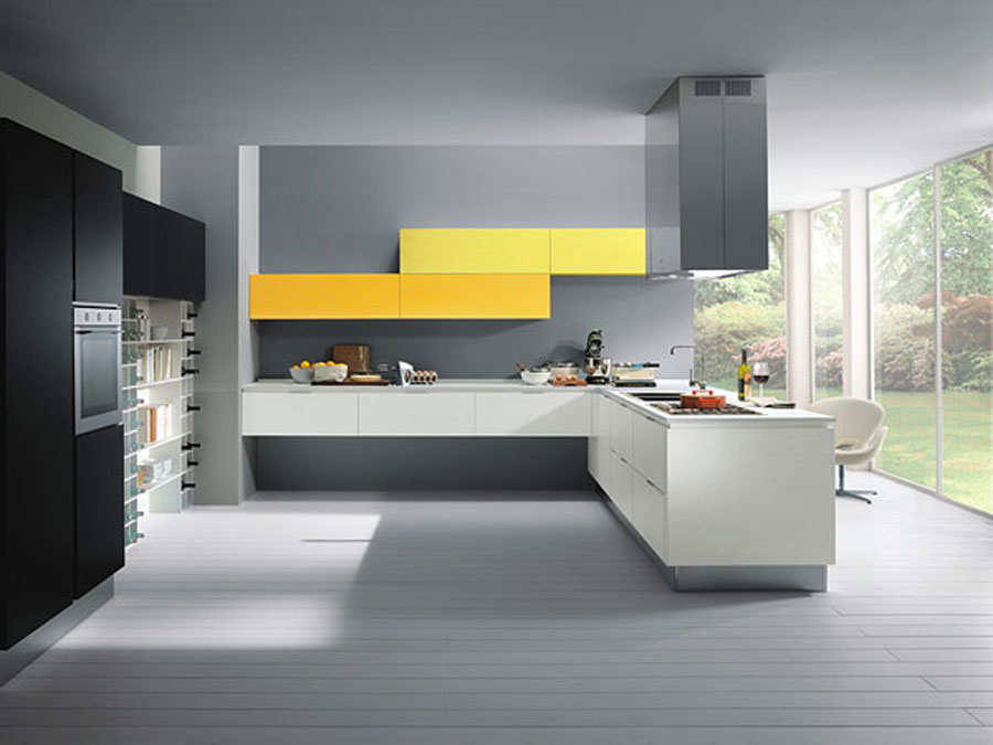 20 splendide cucine dal design minimalista - Cucine decorate ...
