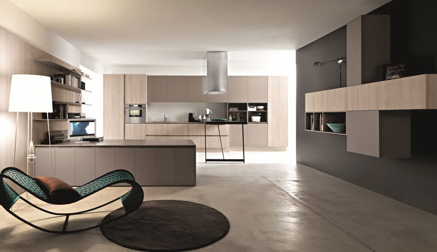 20 splendide cucine dal design minimalista for Arredamento minimalista design